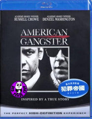 American Gangster Blu-Ray (2007) (Region Free) (Hong Kong Version)