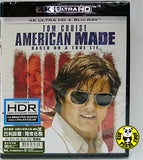 American Made 巴利薛爾: 飛常任務 4K UHD + Blu-Ray (2017) (Hong Kong Version)