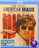 American Made 巴利薛爾: 飛常任務 Blu-Ray (2017) (Region A) (Hong Kong Version)