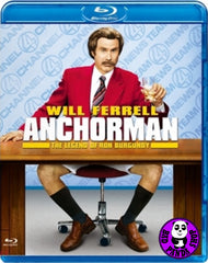 Anchorman: The Legend Of Ron Burgundy Blu-Ray (2004) (Region A) (Hong Kong Version)