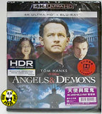 Angels & Demons 天使與魔鬼 4K UHD + Blu-Ray (2009) (Hong Kong Version)