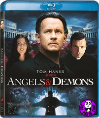 Angels & Demons 天使與魔鬼 Blu-Ray (2009) (Region A) (Hong Kong Version) (Mastered in 4K)