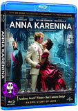 Anna Karenina Blu-Ray (2012) (Region A) (Hong Kong Version)