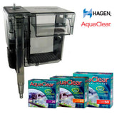 Hagen Aqua Clear Power Filter 20, 30, 50 Hang On External Filters (Hagen/AquaClear) (Filters)