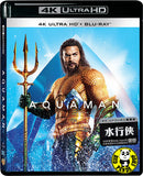 Aquaman 水行俠 4K UHD + Blu-Ray (2018) (Hong Kong Version)