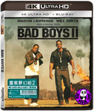 Bad Boys II 重案夢幻組2 4K UHD + Blu-Ray (2003) (Hong Kong Version)