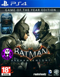 Batman: Arkham Knight - Game of the Year Edition (PlayStation 4) Region Free
