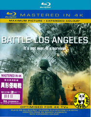 Battle: Los Angeles Blu-Ray (2011) (Region A) (Hong Kong Version) (Mastered in 4K)