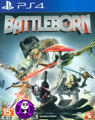 Battleborn (PlayStation 4) Region Free (PS4 English & Chinese Subtitled Version) (中英文合版)