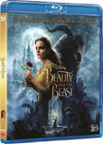 Beauty And The Beast 3D 美女與野獸 Blu-Ray (2017) (Region A) (Hong Kong Version)