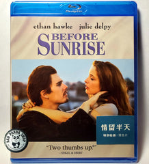 Before Sunrise 情留半天 Blu-Ray (1995) (Region Free) (Hong Kong Version)