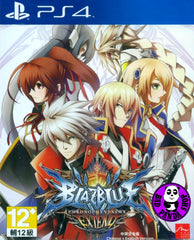 BlazBlue - Chrono Phantasma EXTEND (PlayStation 4) Region Free (PS4 English & Chinese Subtitled Version) 蒼翼默示錄 刻之幻影 擴充版 (中英文合版)