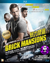 Brick Mansions Blu-Ray (2014) (Region A) (Hong Kong Version)