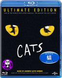 Cats - The Musical 貓: 歌舞劇 Blu-Ray (Andrew Lloyd Webber) (Region Free) (Hong Kong Version) Ultimate Edition