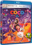 CoCo‬ 玩轉極樂園 2D + 3D Blu-Ray (2017) (Region A) (Hong Kong Version)