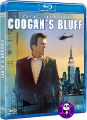 Coogan's Bluff 獨行鐡金剛 Blu-Ray (1968) (Region A) (Hong Kong Version)