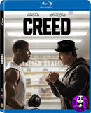 Creed 洛奇外傳: 王者之後 Blu-Ray (2015) (Region A) (Hong Kong Version)