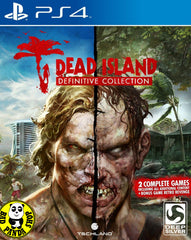 Dead Island: Definitive Collection (PlayStation 4) Region Free (PS4 English Version)