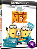 Despicable Me 2 壞蛋獎門人‬2  4K UHD + Blu-Ray (2010) (Region Free) (Hong Kong Version)