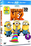 Despicable Me 2 2D + 3D Blu-Ray (2013) (Region A) (Hong Kong Version) 2 Disc Edition
