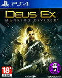 Deus Ex: Mankind Divided (PlayStation 4) Region Free