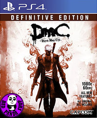 Devil May Cry - Definitive Edition (PlayStation 4) Region Free