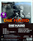 Die Hard Legacy Collection (5 Blu-Ray + 1 DVD) (Region Free) (Hong Kong Version)