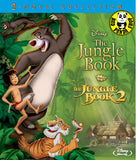 Disney The Jungle Book 1+2 Blu-Ray (1967-2003) (Region A) (Hong Kong Version) Two Movie Collection