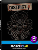 District 9 Blu-Ray (2009) (Region A) (Hong Kong Version) Gallery 1988 Project Pop Art Steelbook version