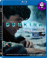 Dunkirk 鄧寇克大行動 Blu-Ray (2017) (Region A) (Hong Kong Version) 2 Discs