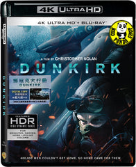 Dunkirk 鄧寇克大行動 4K UHD + Blu-Ray (2017) (Hong Kong Version)