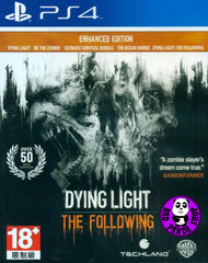 Dying Light: The Following Enhanced Edition (PlayStation 4) Region Free