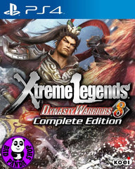 Dynasty Warriors 8 Xtreme Legends Complete Edition (PlayStation 4) Region Free