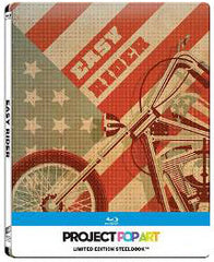 Easy Rider Blu-Ray (1976) (Region A) (Hong Kong Version) Gallery 1988 Project Pop Art Steelbook version