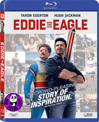 Eddie The Eagle Blu-Ray (2016) 我要做鷹雄 (Region A) (Hong Kong Version)