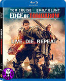 Edge Of Tomorrow Live. Die. Repeat. 異空戰士 Blu-Ray (2014) (Region A) (Hong Kong Version)