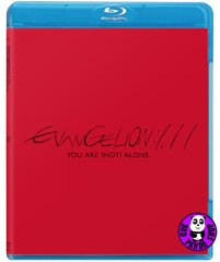 Evangelion 1.11 You Are (Not) Alone (2019) 福音戰士新劇場版:序 (Region A Blu-ray) (English Subtitled) Japanese Animation
