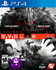 Evolve Ultimate Edition (PlayStation 4) Region Free