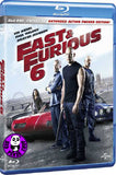 Fast & Furious 6 Blu-Ray (2013) (Region A) (Hong Kong Version)