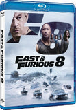Fast & Furious 8 狂野時速8 Blu-Ray (2017) (Region A) (Hong Kong Version) aka The Fate Of The Furious