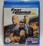 Fast & Furious: Hobbs & Shaw 2D + 3D Blu-Ray (2019) 狂野時速: 雙雄聯盟 (Region A) (Hong Kong Version)