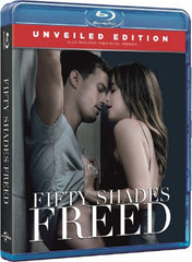 Fifty Shades Freed 格雷的五十道色戒3 Blu-Ray (2018) (Region A) (Hong Kong Version) Unveiled Edition 終極加長版