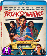 Freaks Of Nature Blu-Ray (2015) (Region A) (Hong Kong Version)