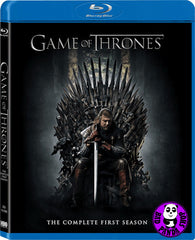 Game Of Thrones 權力遊戲 TV series Complete Season 1 (第一輯) Blu-Ray (2011) (Region A) (Hong Kong Version) 5 Discs