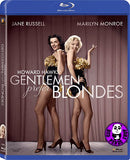 Gentlemen Prefer Blondes Blu-Ray (1953) (Region A) (Hong Kong Version)