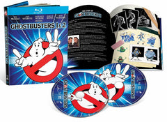 Ghostbusters 1 & 2 Blu-Ray Digibook (1984-1989) (Region A) (Hong Kong Version) (Mastered in 4K) Limited Edition