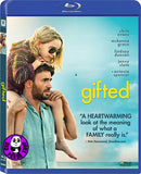Gifted 天賦的禮物 Blu-Ray (2017) (Region A) (Hong Kong Version)