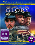 Glory Blu-Ray (1989) (Region Free) (Hong Kong Version) (Mastered in 4K)