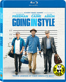 Going In Style ‎搶錢耆兵 Blu-Ray (2017) (Region A) (Hong Kong Version)