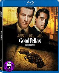 GoodFellas 盜亦有道 Blu-Ray (1990) (Region A) (Hong Kong Version) Remastered 2 Disc Edition